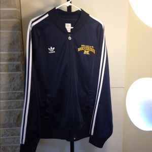 Mens adidas track jacket Michigan Wolverines